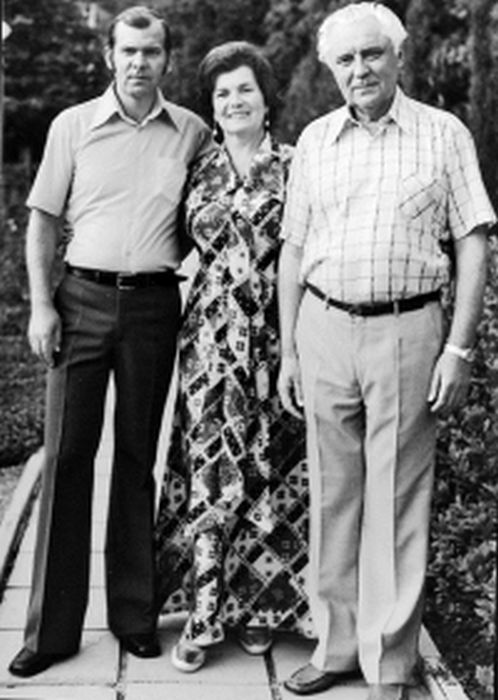 Владимир Щербицкий с женой и сыном. / Фото: www.bulvar.com.ua