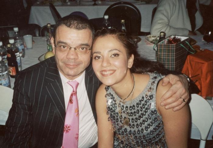Константин Райкин с дочерью Полиной. / Фото: www.jurmalaszinas.lv