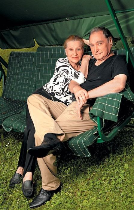 Владимир Коренев и Алла Константинова. / Фото: www.tele.ru