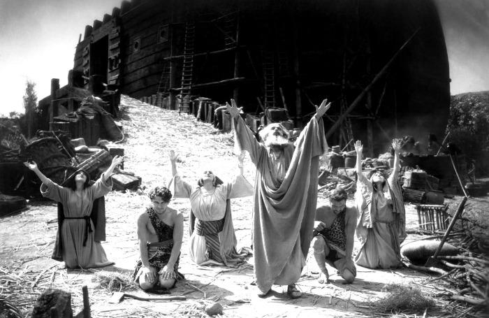 Кадр из фильма «Ноев Ковчег», 1928 год. / Фото: www.ninjajournalist.com