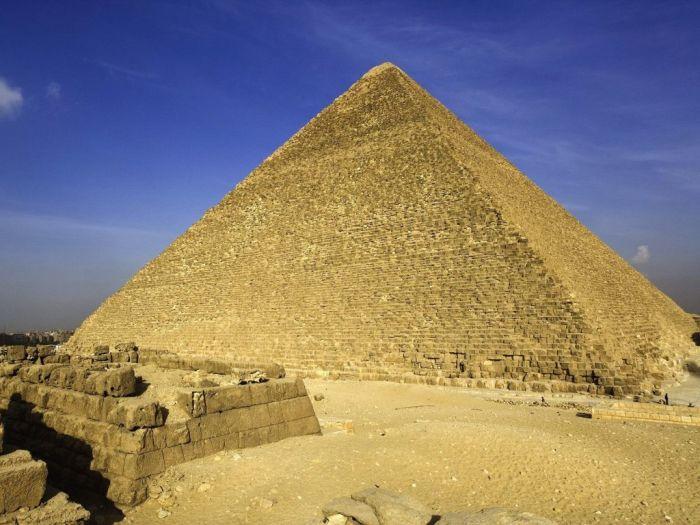 Pirâmide de Quéops.  / Foto: www.salik.biz