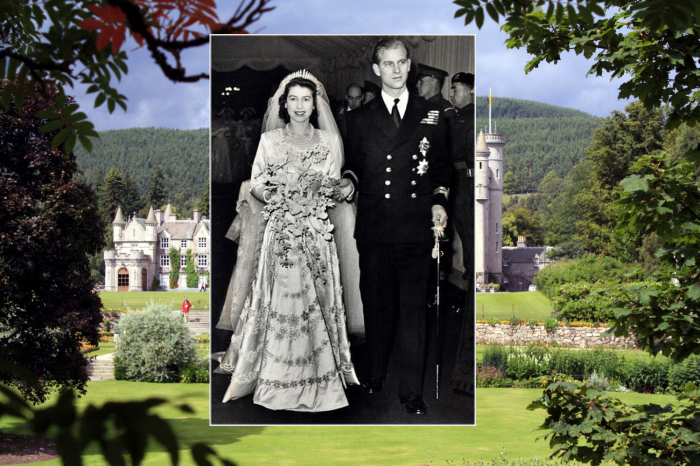 Елизавета II и Филипп Маунтбеттен.