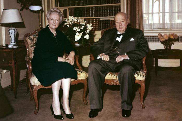 Уинстон и Клементина Черчилль. / Фото: www.standard.co.uk