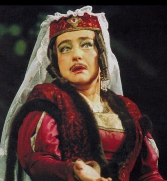 Людмила Макарова в роли Ханумы, 1972 год. / Фото: www.bdt.spb.ru