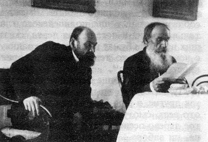 Л.Н. Толстой с сыном Ильей Львовичем. 1903 г. / Фото:  С.А. Сергеенко, www.litena.ru