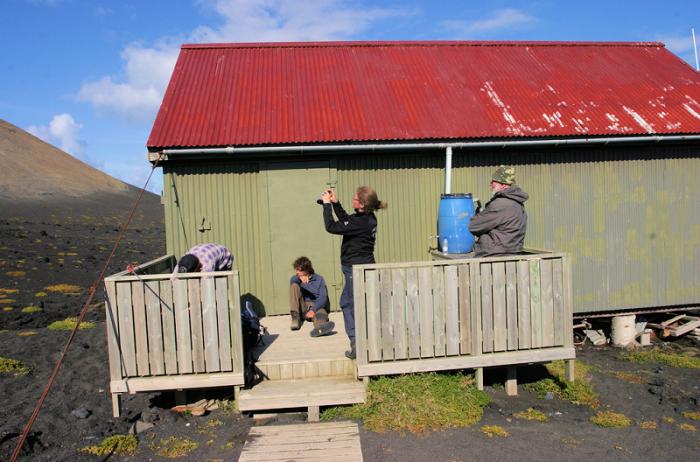 Домик для исследователей острова. / Фото: www.spiritland.net