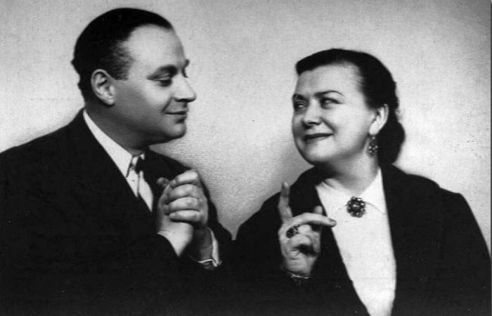 Мария Миронова и Александр Менакер. / Фото:  www.webslivki.com