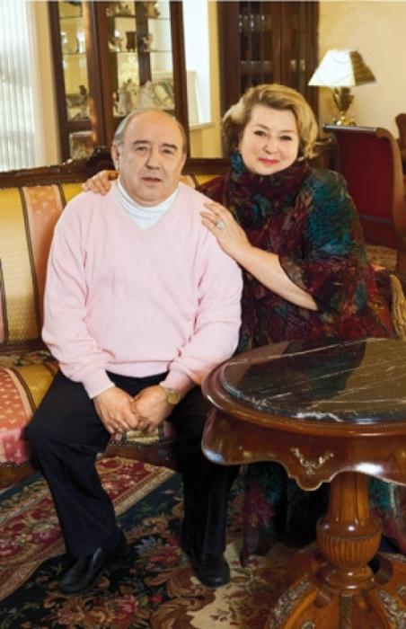 Татьяна Тарасова и Владимир Крайнев. / Фото: www.baltinfo.ru