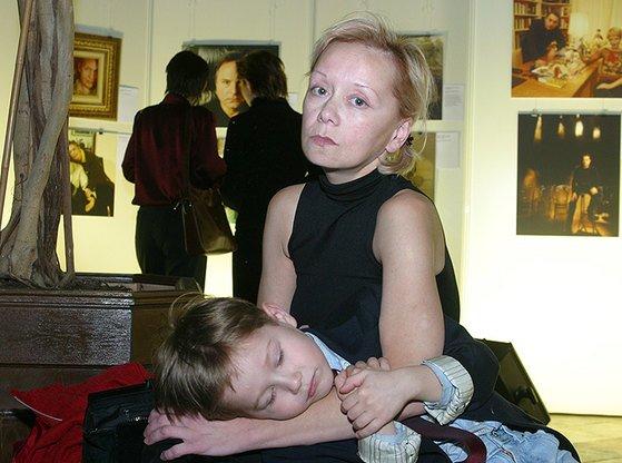 Евдокия Германова с Колей. / Фото: www.makataka.su