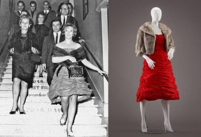 Красное платье Клары Лучко на Каннском фестивале произвело настоящий фурор. / Фото: www.mycdn.me