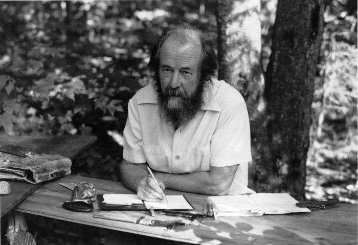 Александр Солженицын. / Фото: www.moscowchanges.ru