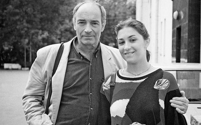 Валентин Гафт с дочерью Ольгой. / Фото: www.eb26.ru