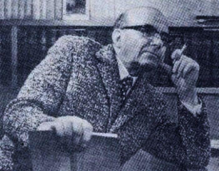 Аркадий Сахнин, предполагаемый автор «Малой земли». / Фото: www.7lafa.com