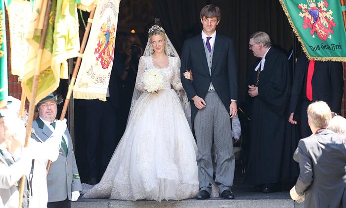 Свадьба Принца Ганноверского и Екатерины Малышевой. / Фото: www.hellomagazine.com