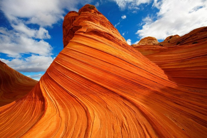 Каменная волна, Аризона, США. / Фото: www.bbeautyworld.ru