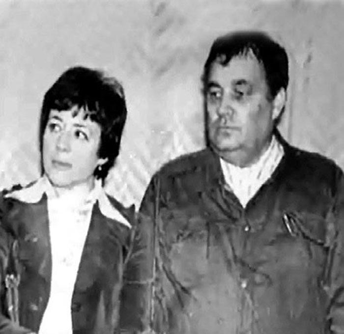Эльдар Рязанов и Зоя Фомина