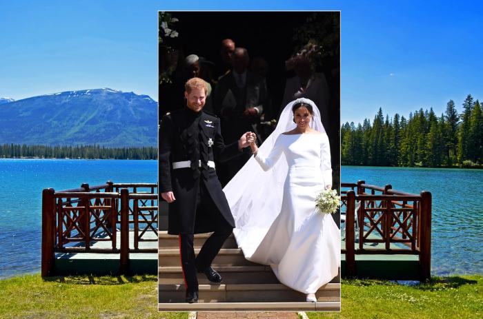 Принц Гарри и Меган Маркл.