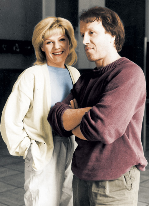 Александра Захарова и Фёдор Стеклов. / Фото: www.two-pressa.ru