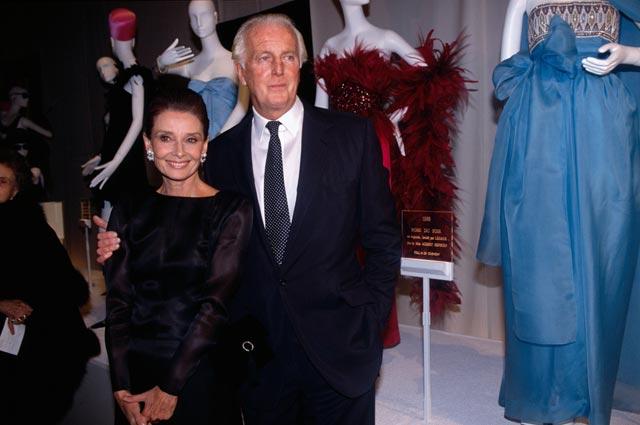 Одри Хепбёрн и Юбер де Живанши.  / Фото: www.tmweb.ru