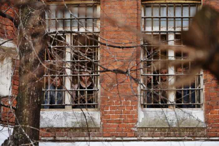 Окна Бутырской тюрьмы. / Фото: www.moseparh.ru