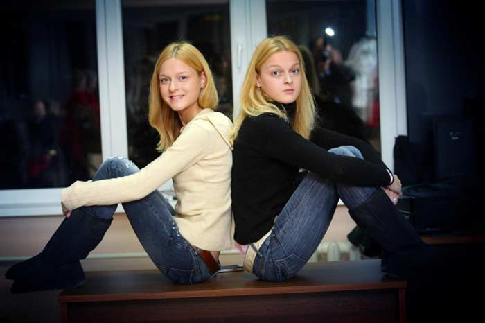 Дарья и Екатерина Носик. / Фото: www.stuki-druki.com