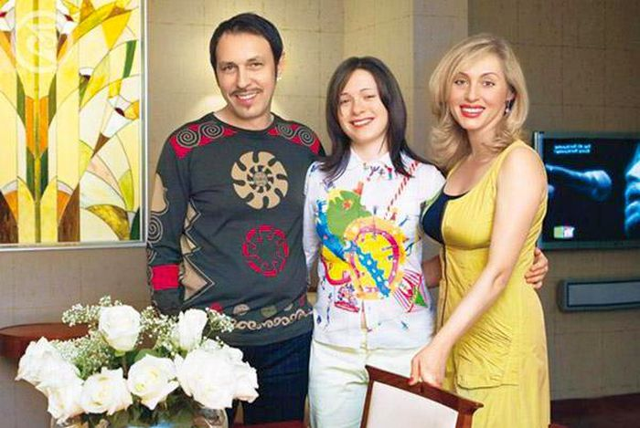 Николай, Марина и Екатерина Носковы. / Фото: www.7days.ru