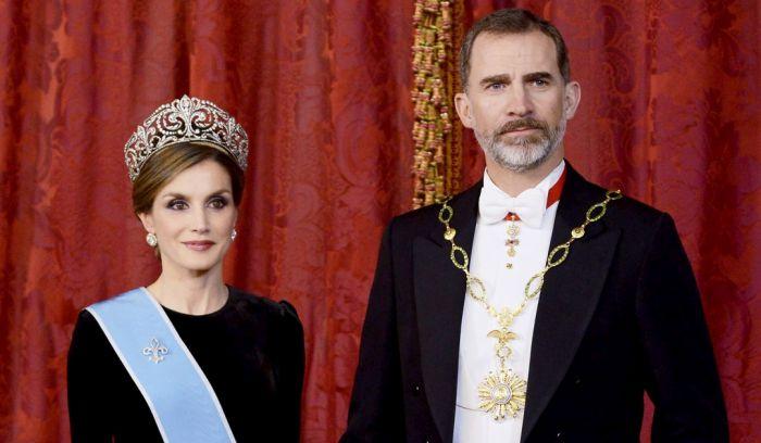 Король Испании Фелипе и королева Летиция. / Фото: www.hellomagazine.com