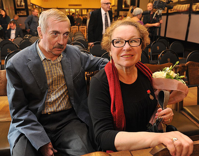 Евгений и Галина Киндиновы. / Фото: Михаил Фролов, www.kpmedia.ru