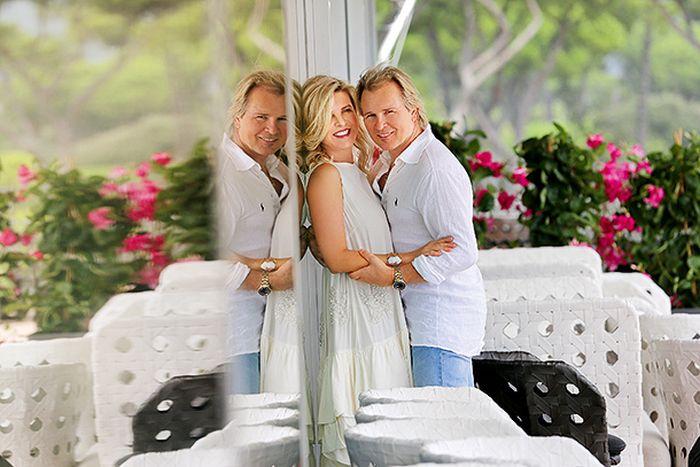 Может, такой и бывает истинная любовь? / Фото: www.hellomagazine.com