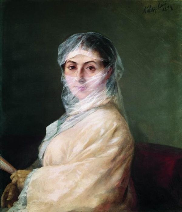 Анна Никитична Бурназян-Саркизова, вторая жена И. К. Айвазовского. / Фото: www.ekabu.ru