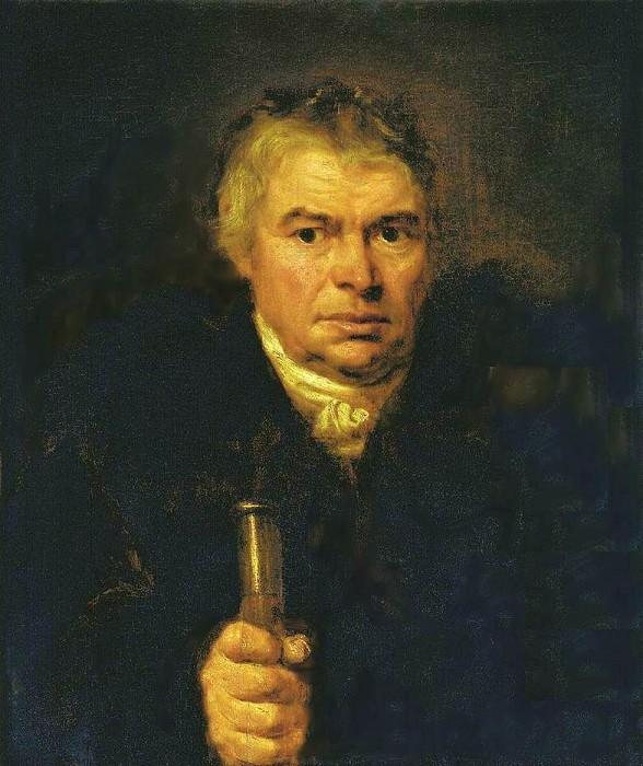 «Портрет отца художника Адама Карловича Швальбе», 1804. / Фото: www.liveinternet.ru