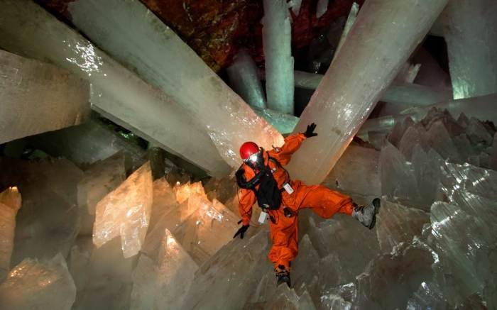 Сама природа создала эту сказочную пещеру. / Фото: www.tvoi-uvelirr.ru