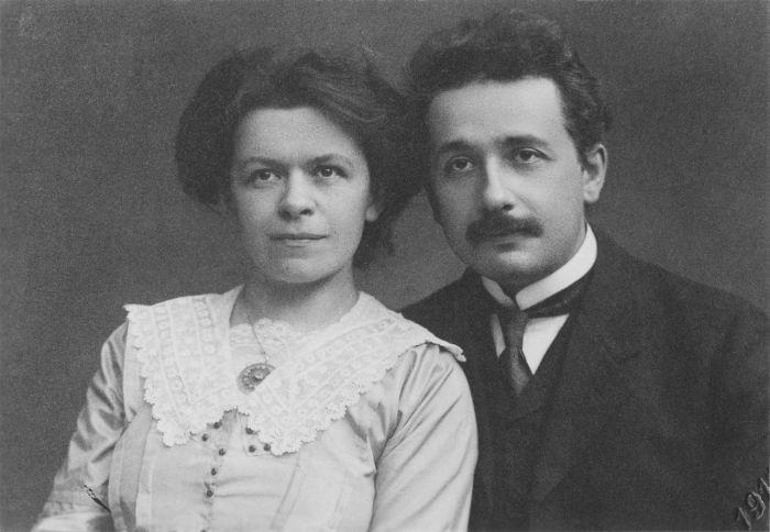 Милева Марич и Альберт Эйнштейн. / Фото: www.igrudom.ru