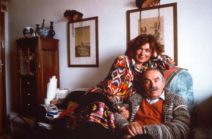 Тонино Гуэрра и Элеонора Яблочкина. / Фото: www.moya-planeta.ru