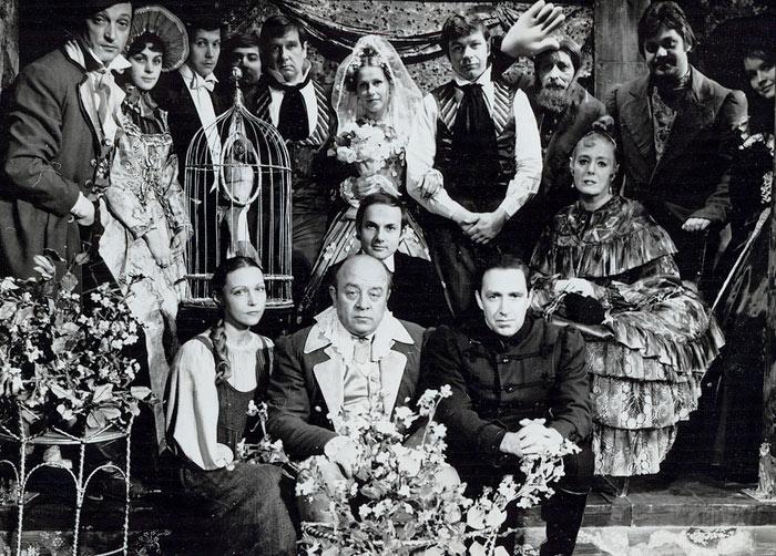 Театр на Малой Бронной, спектакль «Женитьба», реж. А. Эфрос, 1975 год. / Фото: www.kino-teatr.ru