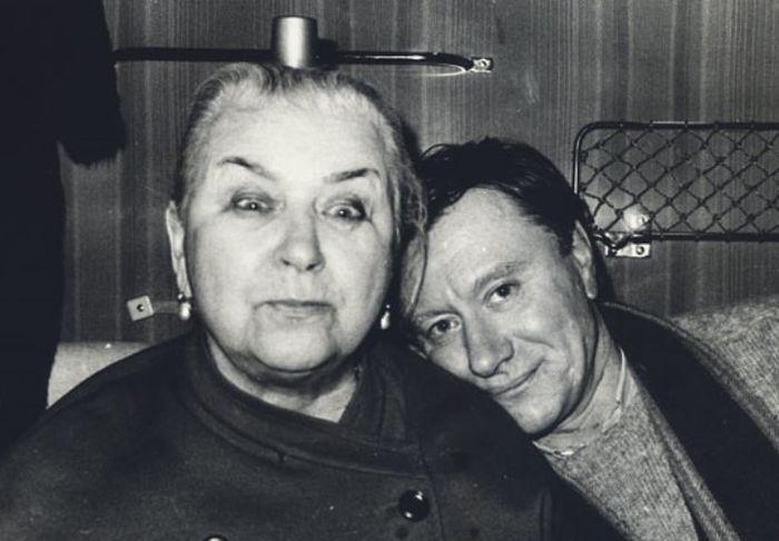 Мария Миронова с сыном. / Фото:  www.pressa.tv