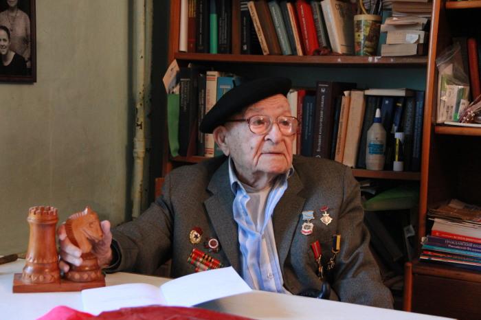 Давид Баруля. / Фото: www.lmosev.ru