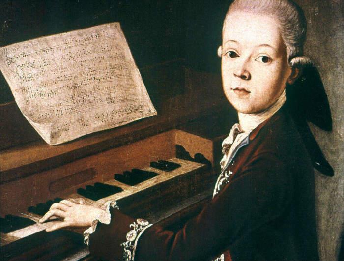 Вольфганг Амадей Моцарт. / Фото: www.stories-of-success.ru