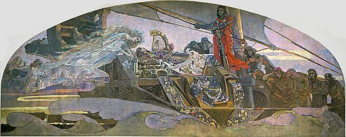 МиÑаил Врубель, «Принцесса Грёза». / Фото: www.wikimedia.org