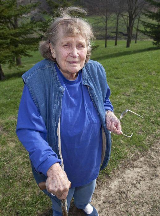 Светлана Аллилуева в конце жизни. / Фото: www.funnymom.ru