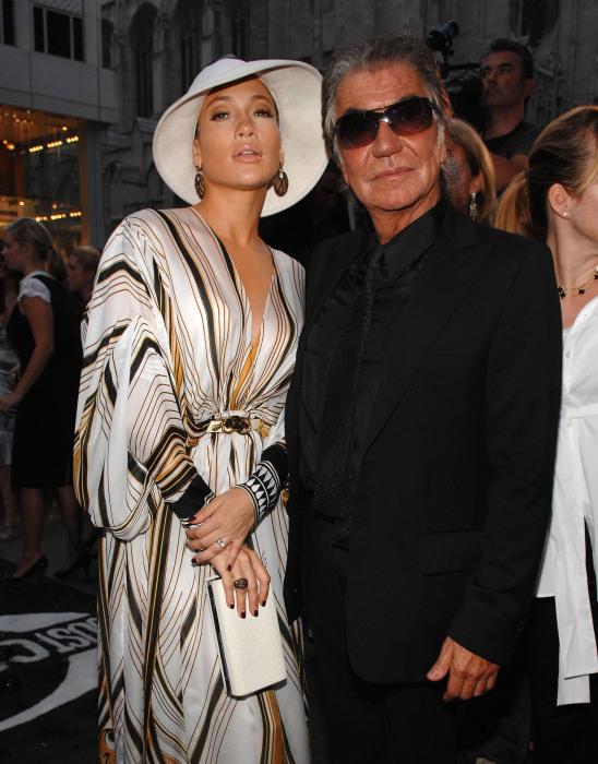 Роберто Кавалли и Лина Нильсон. / Фото: www.askmen.com