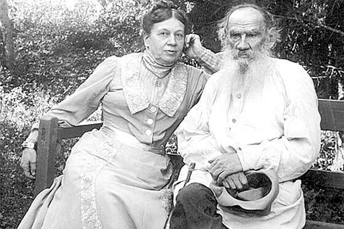 Софья и Лев Толстые. / Фото: www.livejournal.com