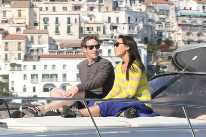 Цукерберг и Присцилла Чан. / Фото: www.woman.ru