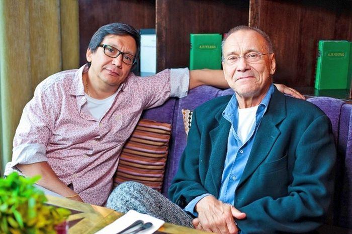 Андрей и Егор Кончаловские. / Фото: www.edimdoma.ru