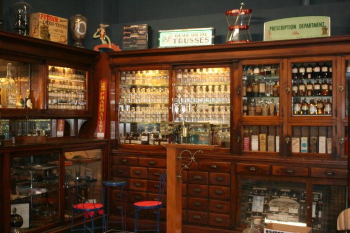 Аптечный музей в Аризоне. / Фото: www.atlasobscura.com