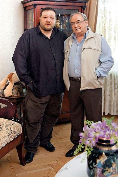 Всеволод Шиловский с сыном Ильей. / Фото: www.7days.ru