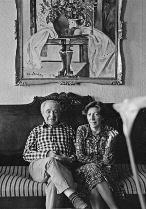 Евгений Лебедев и Натела Товстоногова. / Фото: www.pokazuha.ru