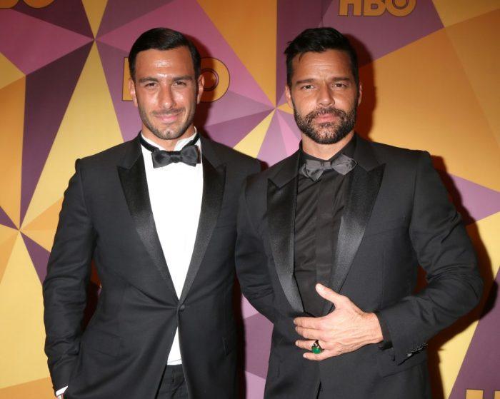 Рики Мартин и Джван Йосеф.  / Фото: www.theknotnews.com