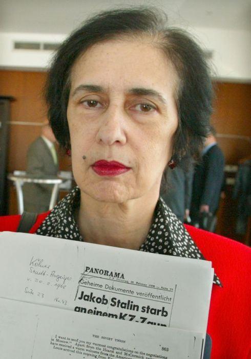 Галина Джугашвили. / Фото: www.smedata.sk