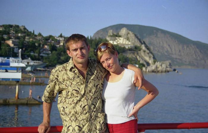 Константин и Анастасия Хабенские. / Фото: www.likeshok.ru
